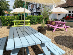 New and Improved outdoor benches