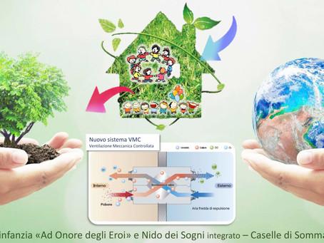 ARIA Pulita con riduzione dei Consumi nel rispetto dell'Ambiente