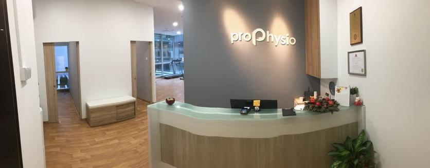 Pro Physio - Reception