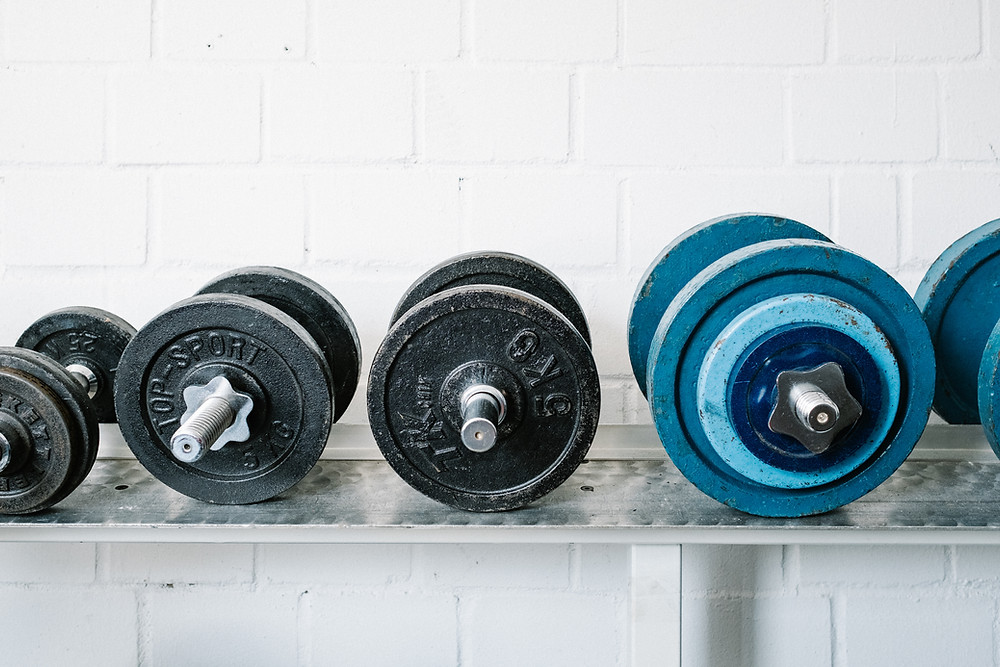 Free weights and Peninsula Family Coaching