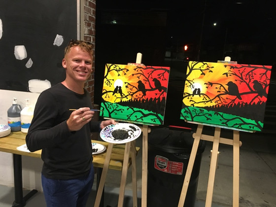 Hire Me for your Group Paint Nights!