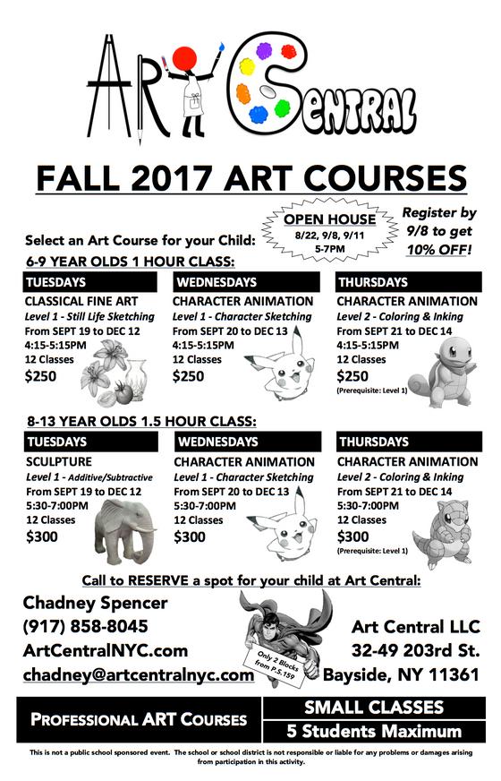 Fall 2017 ArtCourses