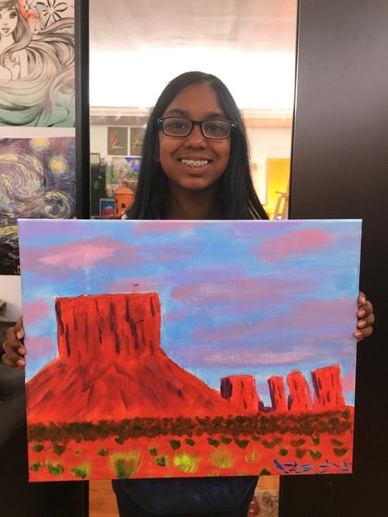 Girls Art Classes