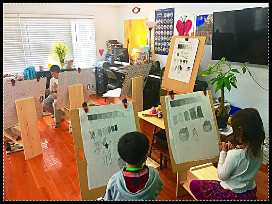 Character Animation:  Sketching Kindergarteners-2nd Graders class