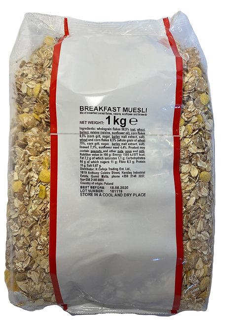 Breakfast Muesli x 1kg
