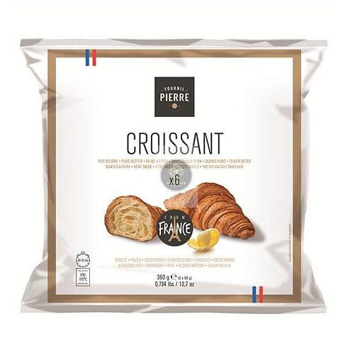 Croissant Plain x 60g x 6pcs