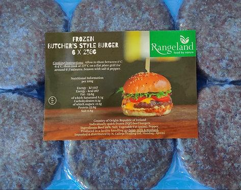 Butcher Style Burgers 6 x 230g