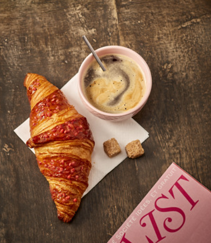 Croissant Raspberry x 3 pieces