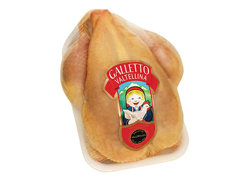 Galletto Valtellina Whole Chicken (each approx. 600g) x kg