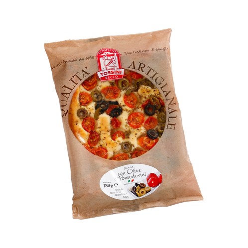 Focaccia Cherry Tomatoes & Olives