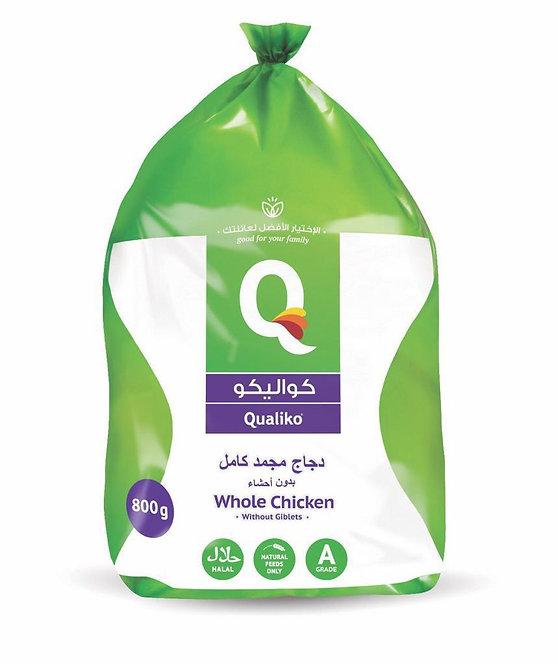 Qualiko Whole Chicken x 1.3kg