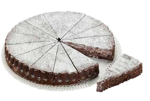 Almond & Chocolate Cake