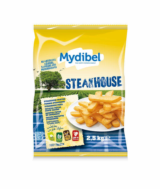 Mydibel Steakhouse Chips x 2.5kg