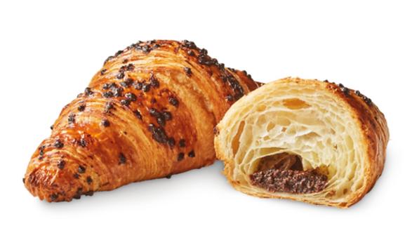 Cocoa & Hazelnut-Filled Croissant x 3 pieces