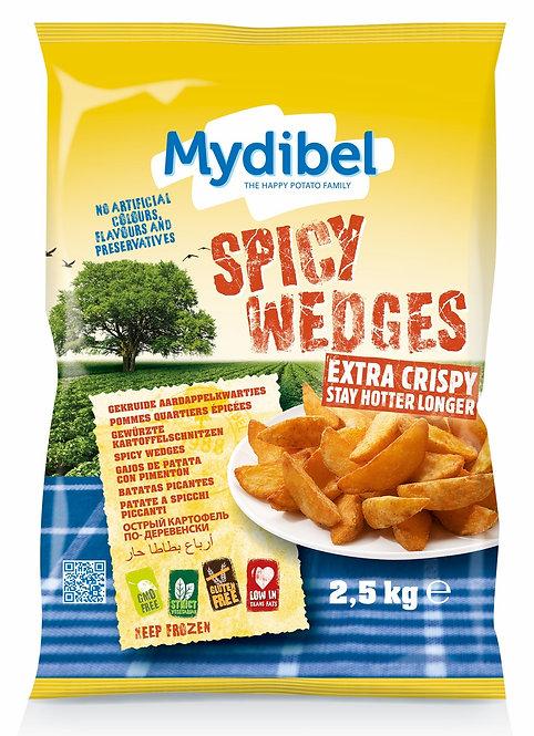 Mydibel Spicy Wedges x 2.5kg