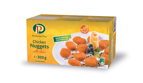 Chicken Nuggets with Cheese x 300g