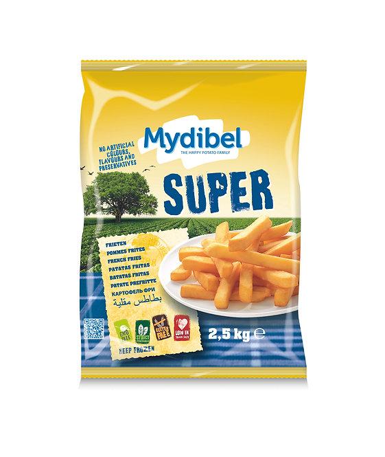 Mydibel Square Cut Chips x 2.5kg