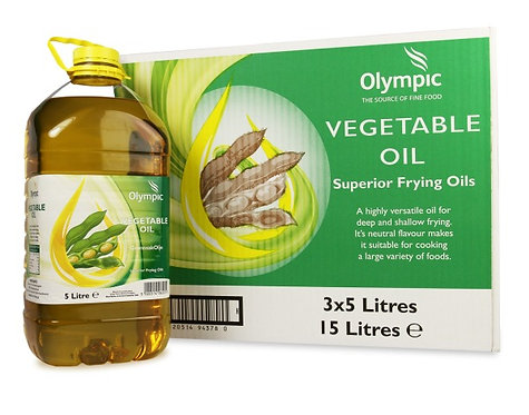 Olympic Vegetable Oil x 5 litres