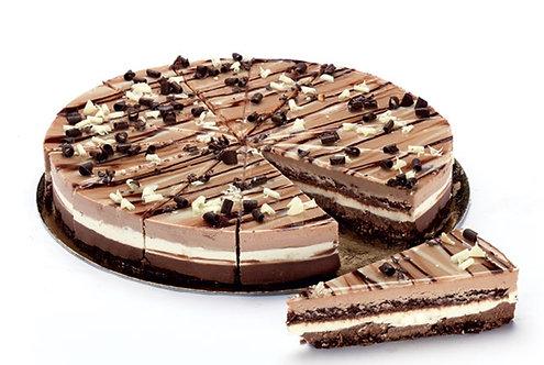 3 Chocolate Cheesecake