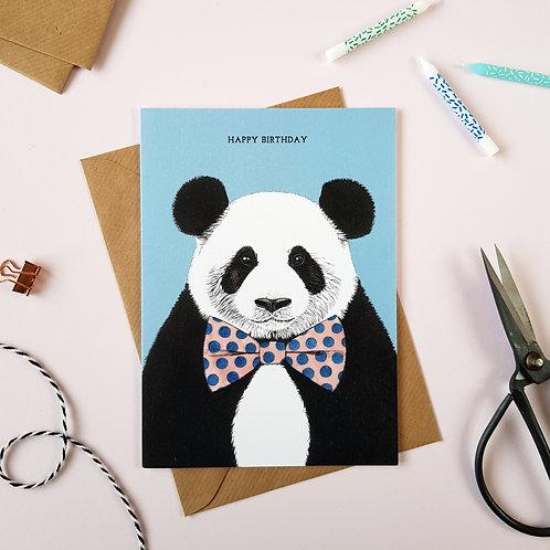 Safari Panda Birthday Card