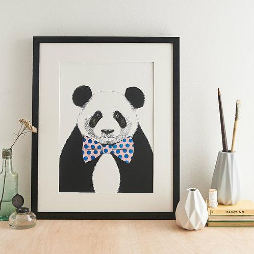 Safari Panda Giclée Print