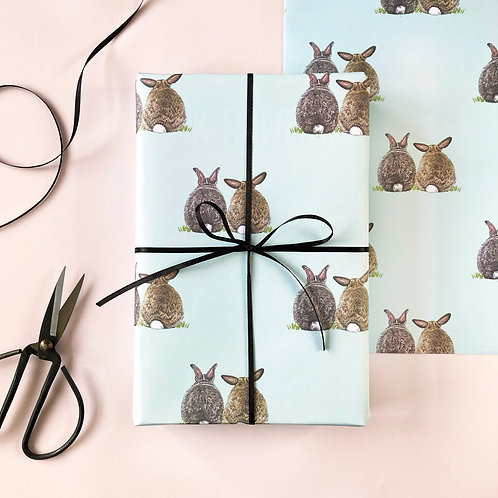 Some Bunny Loves You Wrapping Paper