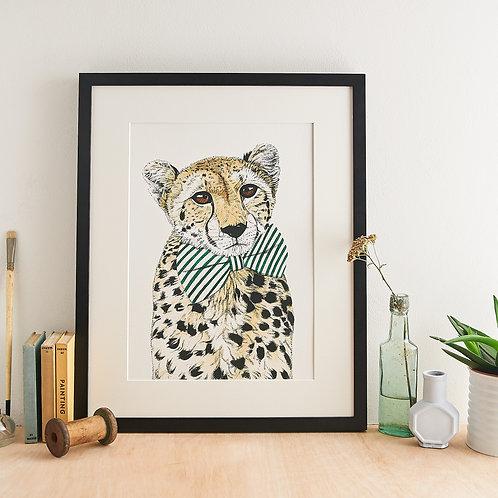 Safari Cheetah Giclée Print