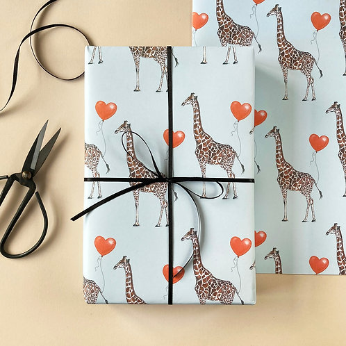 Giraffe Me Crazy Wrapping Paper