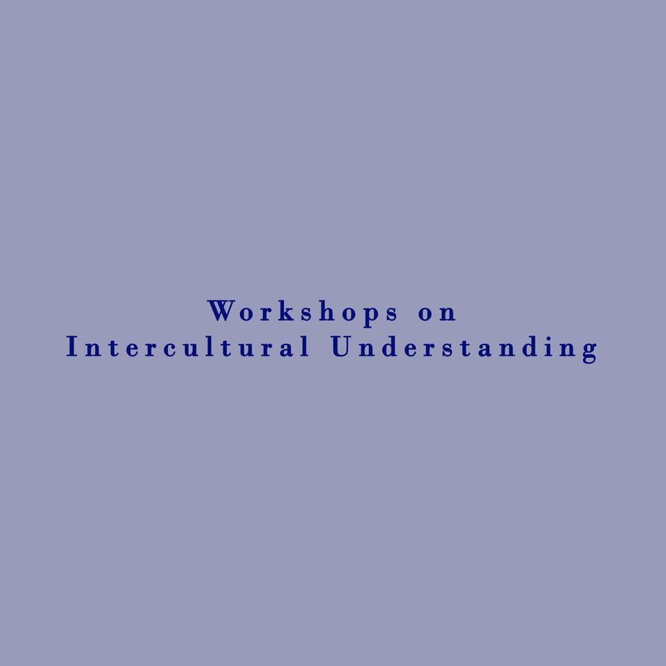 Workshops on Intercultural Understanding