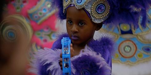 Screenshot - video, young Black girl wit