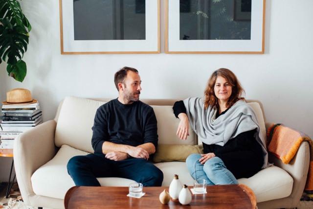Andrew Trotter and Mari Luz from Openhouse Magazine - Photography by Yanina Shevchenko