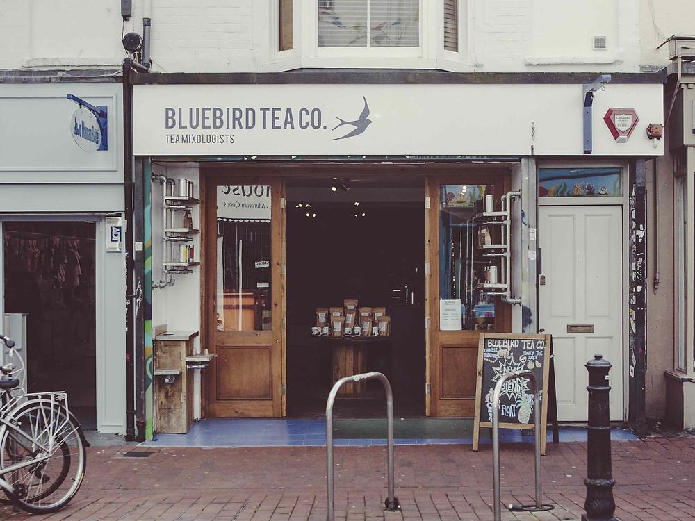 Bluebird Tea Co - Brighton store