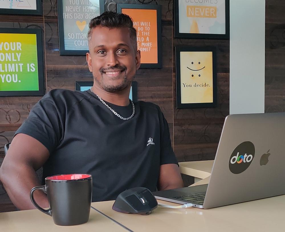 Senthu Velnayagam - Co-founder of Kimp
