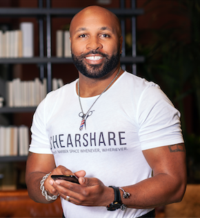 Dr Tye Caldwell, co founder of SHEARSHARE