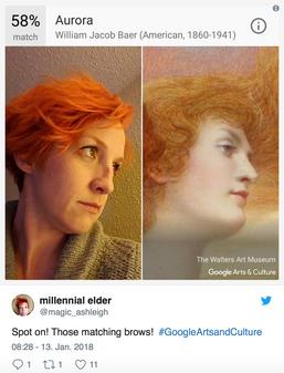 Найдите своего двойника в музее в новом приложении от Google