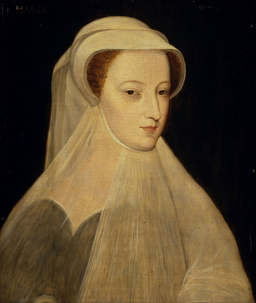 Франсуа Клуэ «Мария Стюарт в трауре по Франциску II», 1560