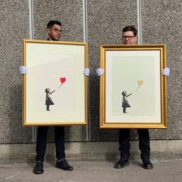 Открыт онлайн-аукцион работ Бэнкси