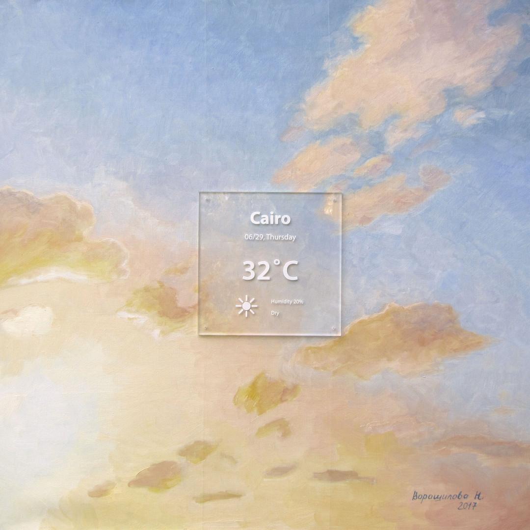 Ciaro. 2017, 80x80 cm, oil on canvas,