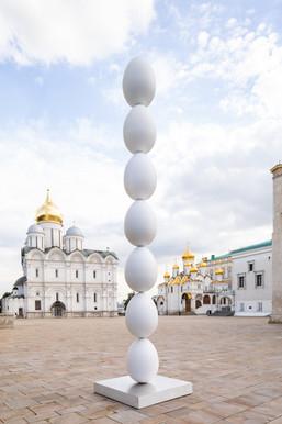 Скульптура Григория Орехова появилась на территории Московского Кремля