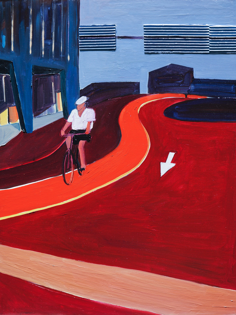 "Maria Kostareva, ""Track"", 70x90 cm"