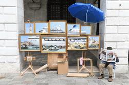 Незамеченные шедевры Бэнкси на Венецианской биеннале