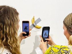 Разоблачение банана Каттелана