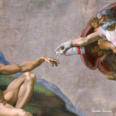 Арт-мемы и пустующие полотна великих художников во время коронавируса