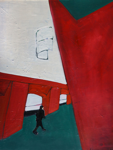 "Maria Kostareva, ""Metro Geometry"", 60x70 cm"