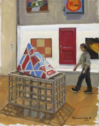 Tretyakov Gallery. Reset 2, 2016