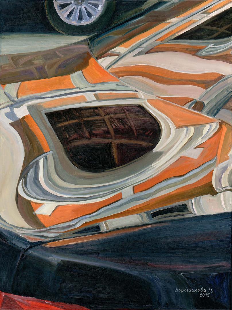 Reflection. Ilinka, 80x60 cm, 2015