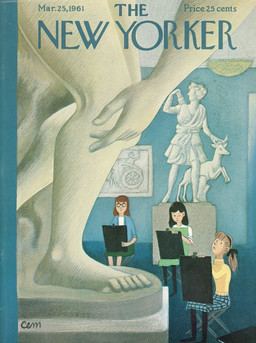 "Обложки журнала ""The New Yorker"" как искусство"