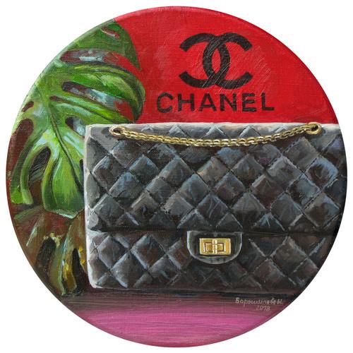 Chanel's bag, 30x30 cm, 2018