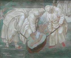 Копия фрески Луки Синьорелли