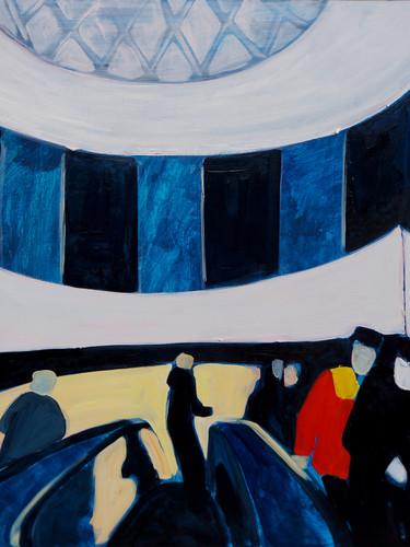 "Maria Kostareva, ""Flow"", 60x60 cm"